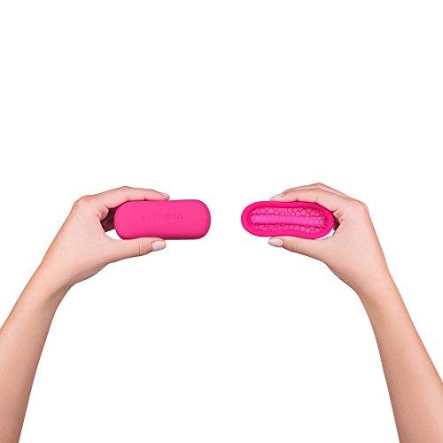 Intimina Ziggy Cup – Extra-dünne wiederverwendbare Menstruationstasse mit flacher Passform - 5