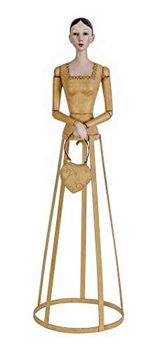 Frauenbüste Biedermeier Dame Schneiderpuppe Frauenfigur Shabby Büste Antik Puppe CW032 Palazzo Exklusiv