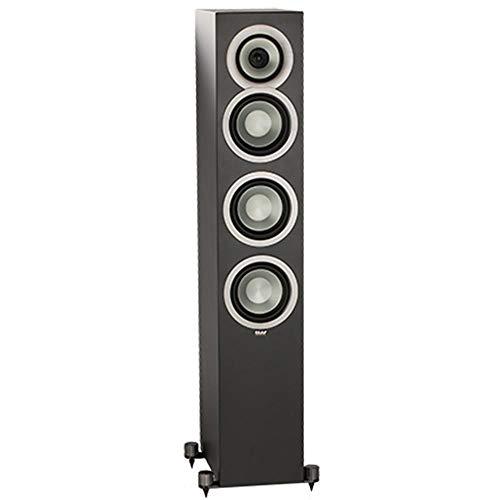 Elac Uni-FI Uf5 Floorstanding Speaker (Finished Satin Black Cabinet, Single)