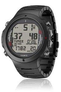 Suunto Men's D6i ALL BLACK STEEL W/ USB Athletic Watches