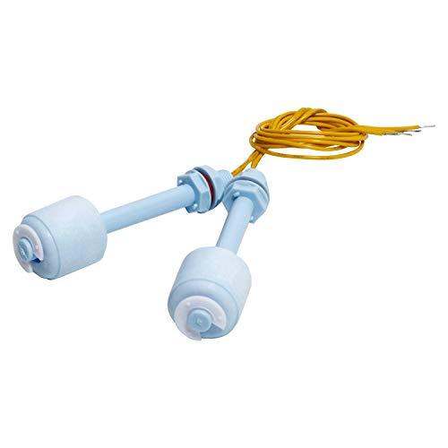 Sensor de nivel de agua sin flotador para acuario líquido, cable del interruptor M10x1.0 de plástico del interruptor PP, longitud de 90 mm