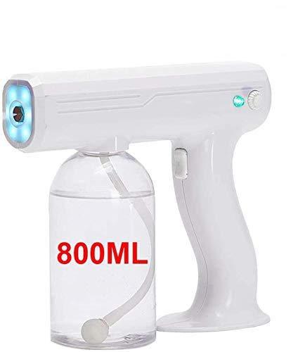 Lycoco 800ML drahtlose elektrische Zerstäuber ULV, tragbare Handheld-Desinfektions Dampfdüse Atomizer blau Nano