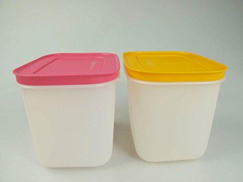 TUPPERWARE Contenitore Pinguino da 1,1 L bianco rosa + bianco arancione 11379