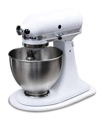 Multislider Gleitbrett-Gleiter für KitchenAid Artisan & Classic | Perfektes Zubehör | Design Gleiter (Weiß)
