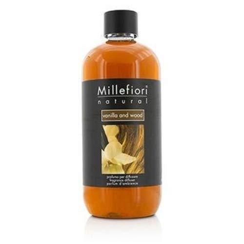Millefiori Natural Ricarica per diffusore di fragranza per ambienti 500ml fragranza Vanilla & Wood