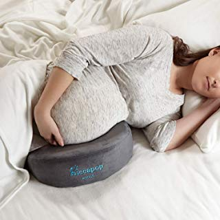 hiccapop Pregnancy Pillow Wedge for Maternity | Memory Foam Maternity Pillows Support...