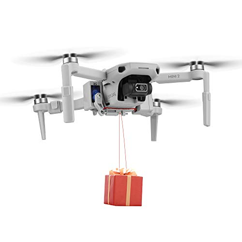 Airdrop System for DJI Mavic Mini 2/Mini Drone, Drone Accessories, Device Dispenser Thrower, Thrower Airdrop Accessories for Wedding Proposal Delivery, Air Dropping Transport Gift