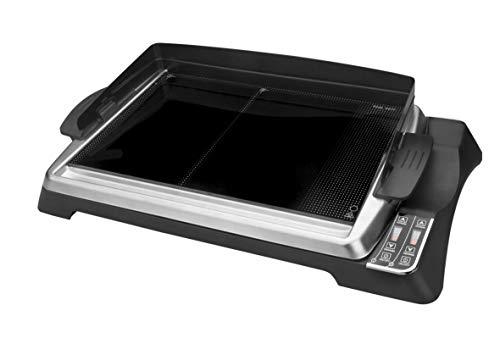 Lacor - 69133 - Placa Grill 27x43 cm 1280w - Negro
