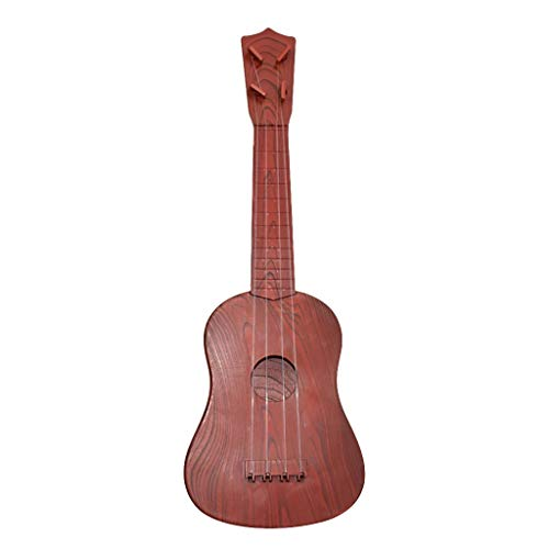 Gugavivid Professionelle Holz Ukulele Instrument Kit Anfänger Klassische Ukulele Gitarre Pädagogisches Musikinstrument Spielzeug für Kinder (B)