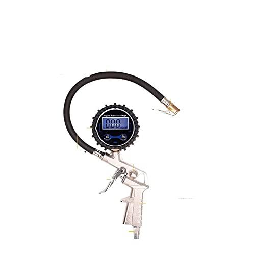 Para remolques de viaje Ama de presión digital de alta precisión Pistola de presión de neumáticos Medidor de presión de neumáticos electrónicos Medidor de presión de neumáticos Pistola de pistola PC-8
