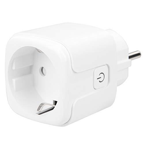 Allsor Enchufe Inteligente WiFi, Toma de Corriente Inteligente, Ahorro de energía Evita...