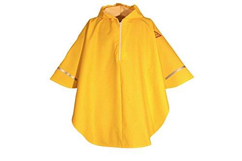 Kinder Regencape / Regenponcho - Original Tells Wet Wear PVC frei - gelb - 90/100