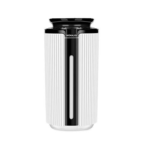 OWSOO 900ml Humidificador de Aire Mini USB Difusor de Aceite Esencial de Aroma 7 Colores Cambiables con Luz de Noche LED