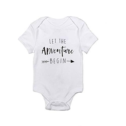 Julhold kleine kinderen peuters baby kinderen nonchalant korte mouwen letters bedrukt slank rompers kleding outfit 0-24 maanden