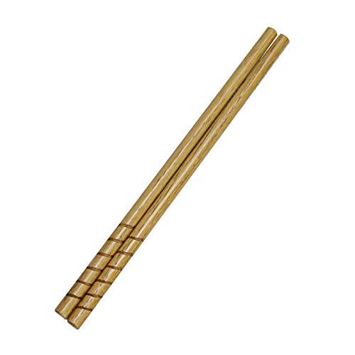 木製 お箸 納豆棒 栗の木 うずまき 20cm