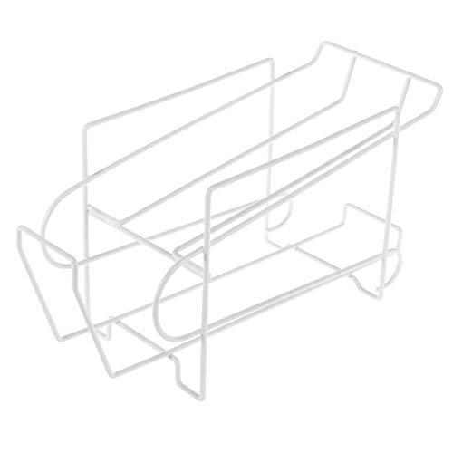 Venus valink 2 Ebenen Stahldosenaufbewahrungsregal, stapelbar, Dosenhalter, Dosenhalter, Dosenhalter, Organizer, selbst für Küche, Kühlschrank, Kühlschrank, Essschrank, Speisekammer