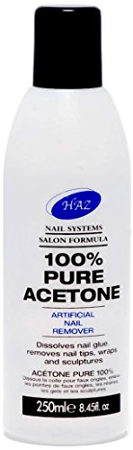 HAZ Pure Acetone Nail Polish Remover 250 ml