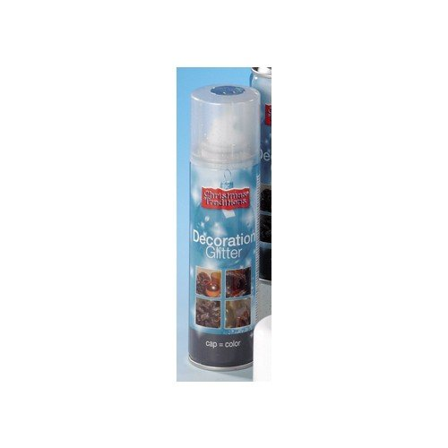 Generique - Bombe Spray argenté 150 ML Noël