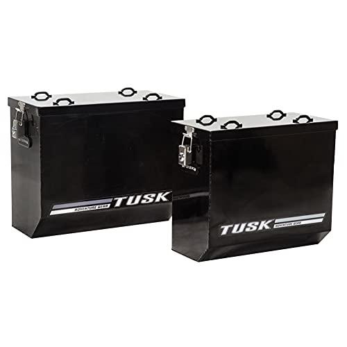 Tusk Aluminum Panniers Large Black