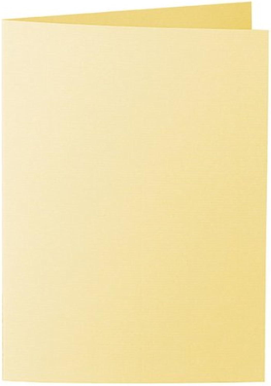 50 Stück    Artoz Serie 1001 Doppelkarten gerippt    Hochdoppelt    DIN A5, 297 x 210mm, hochwertig, lichtgelb B002JJGP1I   | Shopping Online