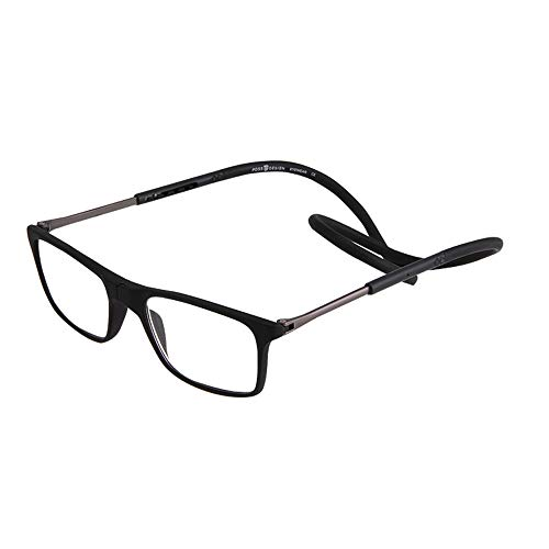 Jigan leesbril, magnetisch, verstelbaar, om verlies te voorkomen.