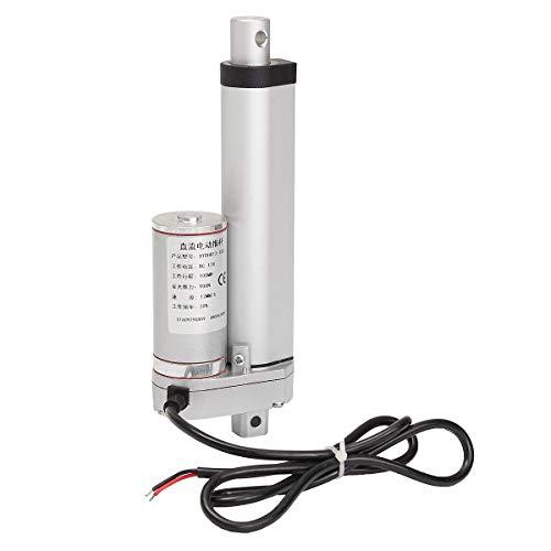 Mozusa 12V 900N 4 pulgadas de 100 mm Actuador lineal ajustable actuador ajustable TOR ABREADOR ACTUADOR DE ACTUADOR LINEO