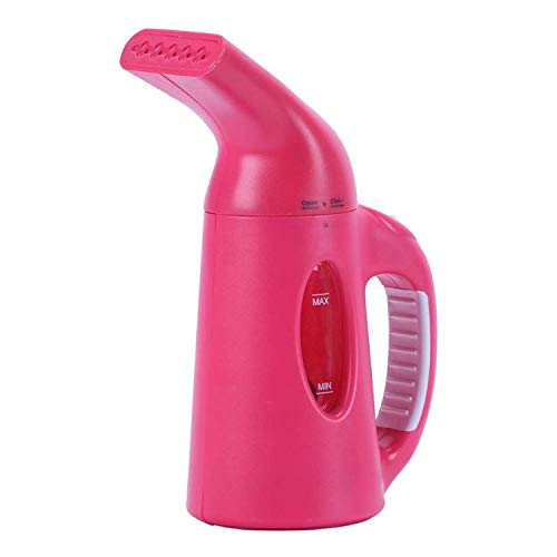 I'll NEVER BE HER 850W Portable Garment Steamer Clothes Steam Iron 120Ml Handheld Mini Steam Iron Dry Cleaning Brush for Home Travel,Red,Us