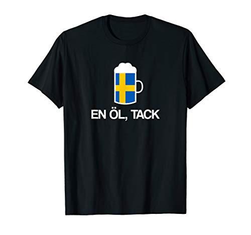 (Ein) Bier bitte auf Schwedisch Schweden Bier T-Shirt