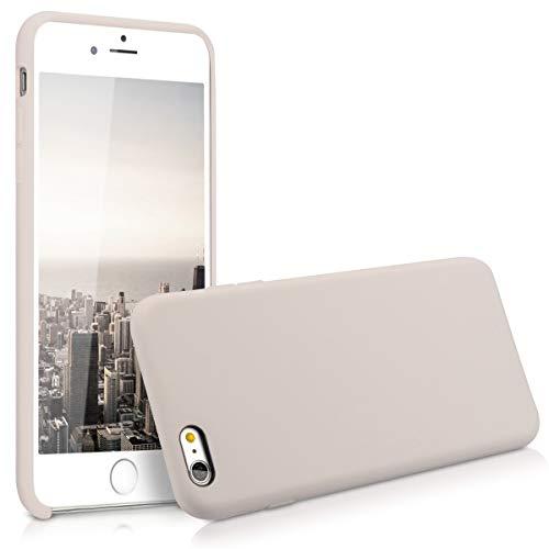 kwmobile Coque Compatible avec Apple iPhone 6 Plus / 6S Plus - Coque - Housse de téléphone Beige