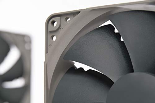 Noctua NF-P12 redux-1700 PWM, Ventilador de Alto Rendimiento, 4 Pines, 1700 RPM (120 mm, Gris) 5