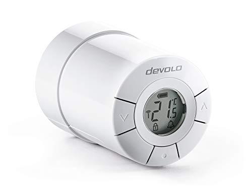 Komfort-Heimnetzwerk Devolo Home Control – Set mit 1 Stück, weiß, Home Control Thermostat de radiateur