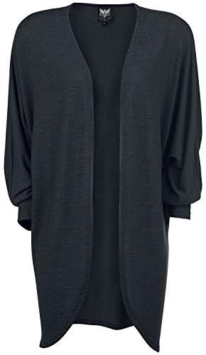 Black Premium by EMP Angel On The Moon Frauen Cardigan schwarz XL