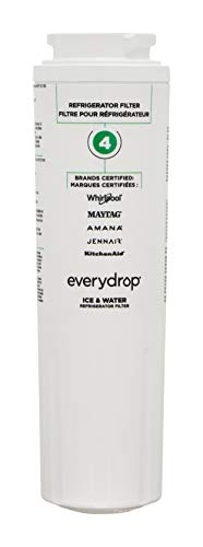 Every Drop by Whirlpool Refrigerator Water Filter 4, EDR4RXD1 (Pack of 1)