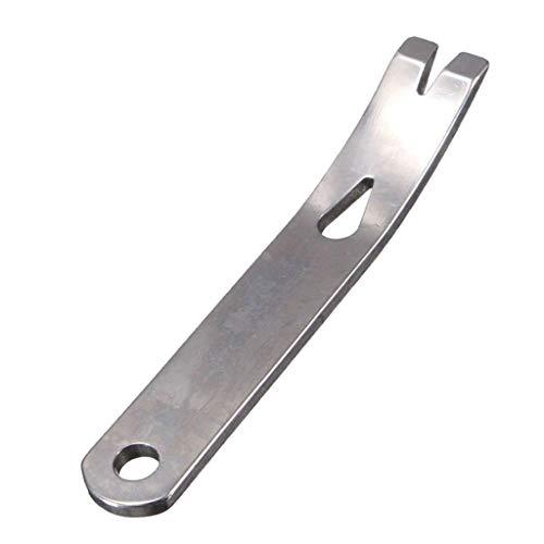 chiwanji Getriebe Mini Kurbel Crowbar Tasche Stemmeisen Schlüsselbund Multitool