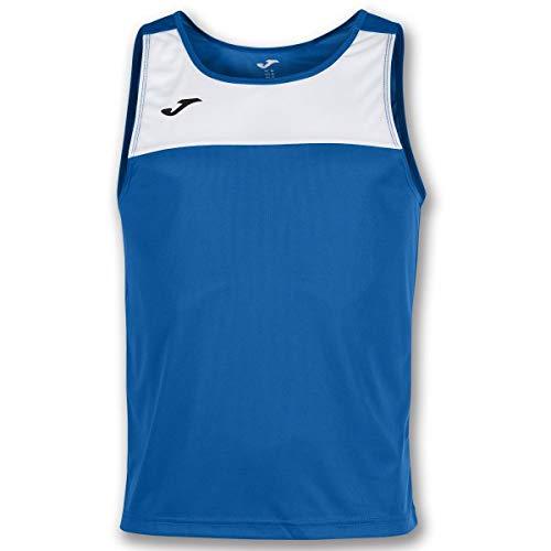Joma Race Camisetas Caballero, Hombre, Royal/Blanco, M