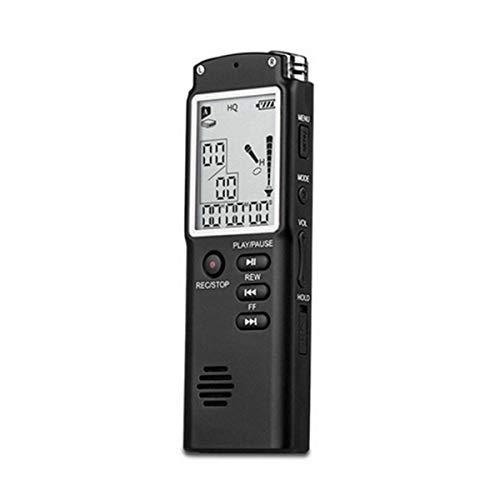 Greatangle Mini T60 Registratore vocale Professionale Display del Tempo Schermo Digitale vocale di Grandi Dimensioni Registratore Audio vocale Dittafono Lettore MP3