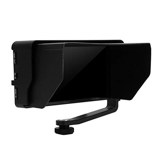 Admite Entrada 4K HD y Salida en Bucle con Monitor de vídeo de 5,5 Pulgadas, Hace Que Disparar Sea más Sencillo e intuitivo