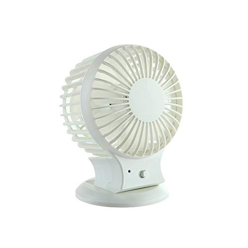 USB-ventilator, Personal Desktop Mini Fan Met Draagbaar Lichtgewicht Ontwerp - Geschikt for Studie, Kantoor, Werkplaats, Kamperen En Reizen (wit)