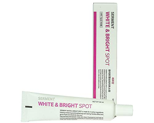 [Serment] Korean Cosmetics Serment White and Bright Spot Cream 30ML 4 major Ingredients with ASL technology for reduce skin dark spots and Skin tone improvement effect