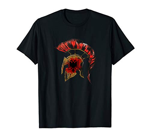 Illyrian Albania Albanian Flag double headed eagle Gift T-Shirt