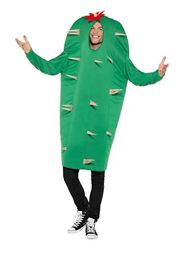 Smiffys Costume Disfraz de cactus, color verde, talla única (47215)