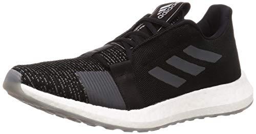 Adidas SENSEBOOST GO M, Zapatillas Running Hombre, Gris (Core Black/Grey Six/Grey Three F17), 42 2/3 EU