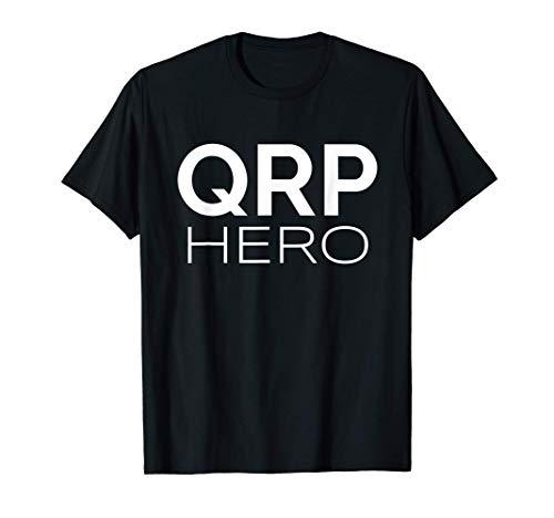 QRP Hero HAM Radio de baja potencia Q-code Mobile Base QRP Camiseta