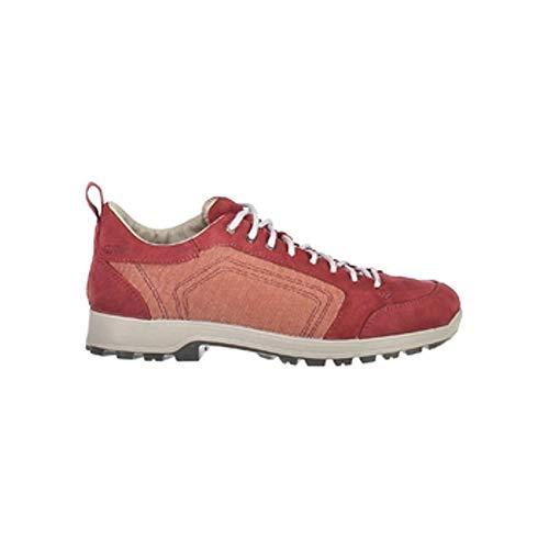 CMP Chaussures de randonnée Atik Canvas Wmn - Rouge - Légères - Unies - Rouge - H438 Borgogna, 38 EU