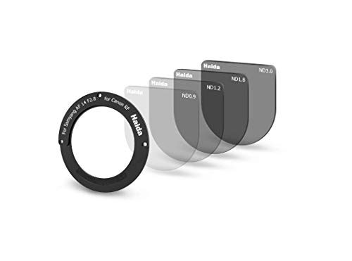 Haida Rücklinsen ND-Filter-Set (ND 0.9, ND 1.2, ND 1.8, ND 3.0) für Samyang AF 14mm F2.8 RF
