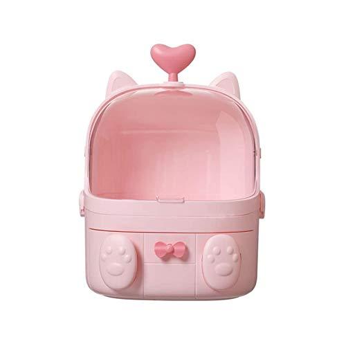 JJSFJH Kosmetische Aufbewahrungsbox, vielseitiges Sortier-Anzeige-Standfeld, extra großes Space-Speicher-Schönheitskasten