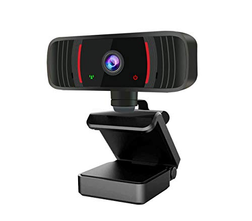 SAUDIO 1080P Webcam, Computer Camera, Webcam with Microphone for Desktop and Laptop, USB HD PC Webcam, USB Plug and Play Webcam