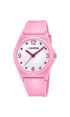 Calypso Reloj Análogo clásico para niñas de Cuarzo con Correa en Plástico K5743/3