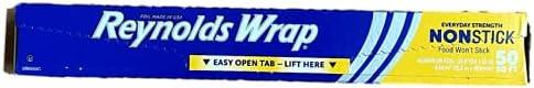 Store Reynolds Wrap Non-Stick Aluminum Purchase Square 50 Foil Feet