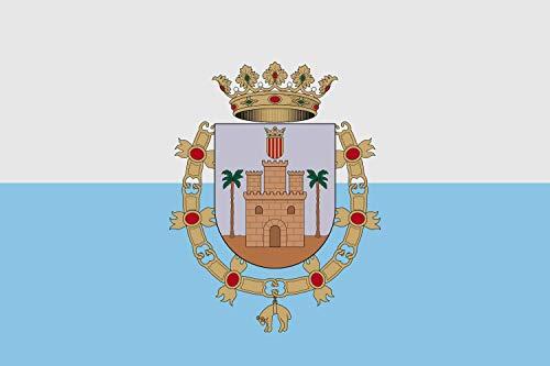 magFlags Bandera Large Municipal de Monforte del CID Alacant, España   Bandera Paisaje   1.35m²   90x150cm